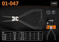 Щипцы прямые  L-315мм., Ra - (80...140)мм., для внутренних стопорных колец, NEO 01-047