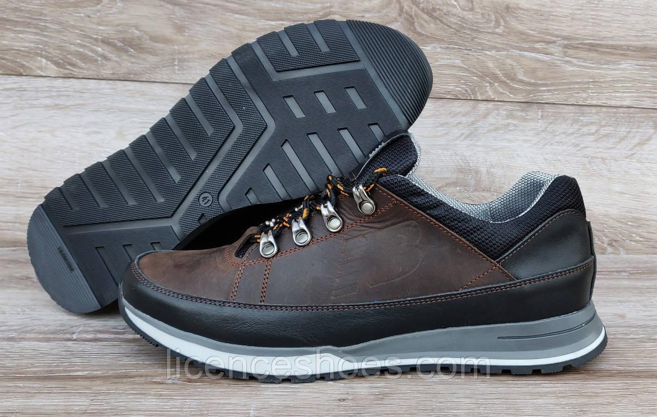 Мужские кожаные кроссовки New Balance 754