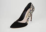 Леопардовые замшевые туфли Bravo Moda 1708