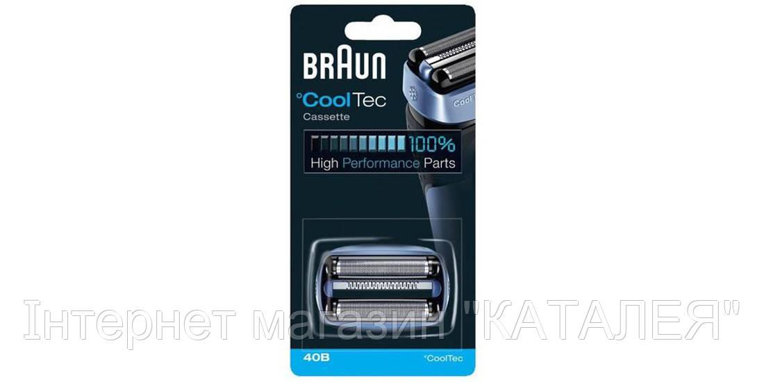 Пленка + блок ножей Braun Cassette CoolTec 40В