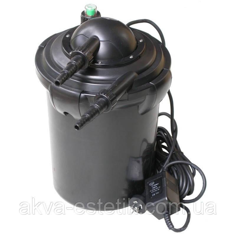 Фильтр напорный для пруда AQUANOVA NPF-20, УФ лампа 9Вт