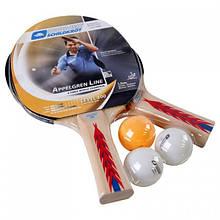 Набор настольного тенниса Donic Appelgren 300 (2р+3м)