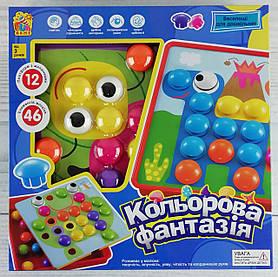 """Мозаика Для малышей """"Цветная фантазия"""" 46 эл. 7033+ Fun Game"""