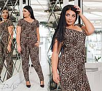 Интересный леопардовый комбинезон