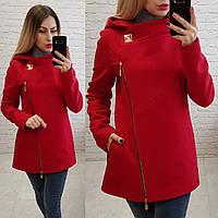 Пальто кашемировое с капюшоном, модель 156, фото 1