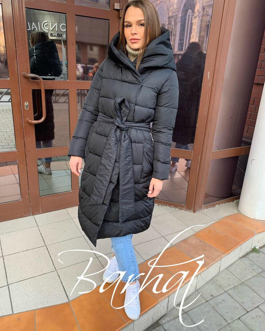 Стильная женская длинная куртка