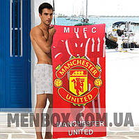 Модные мужские полотенца Manchester United - №4847