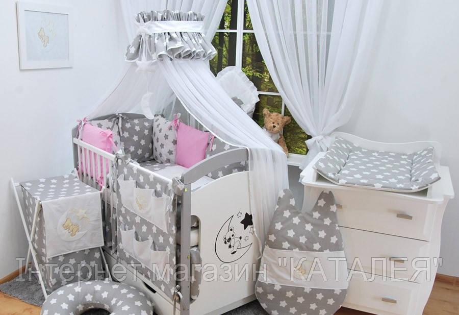 Детская кроватка с полным комплектом DARLAND