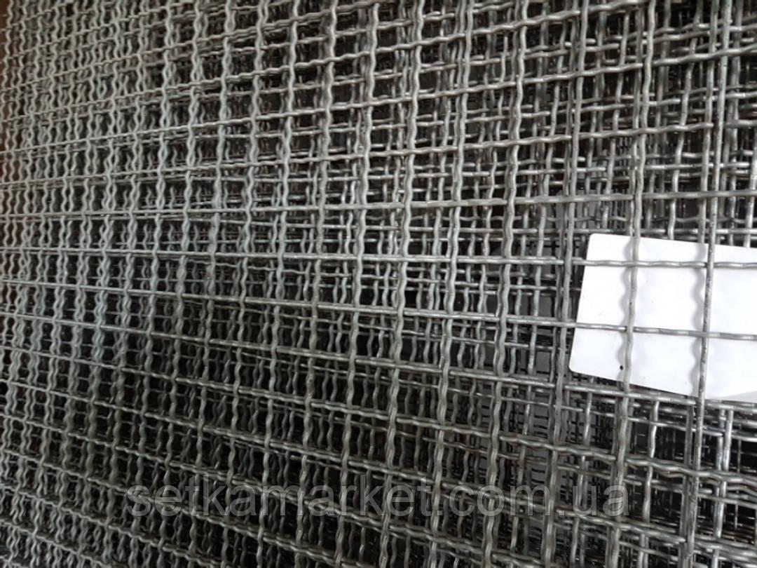 Сетка Канилированная, Ячейка 50х50 мм, Проволока 4,6 мм. Оцинкованная