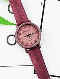 Бордові жіночі годинники, фото 2