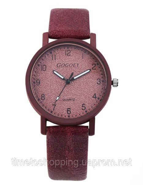 Бордові жіночі годинники