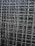 Сітка Канілірована, Осередок 60х60 мм, Дріт 4,6 мм, Чорна, фото 2