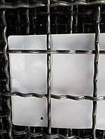 Сетка Канилированная, Ячейка 60х60 мм, Проволока 4,6 мм. Чёрная
