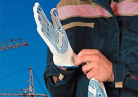Рабочие перчатки с ПВХ: свойства и характеристики