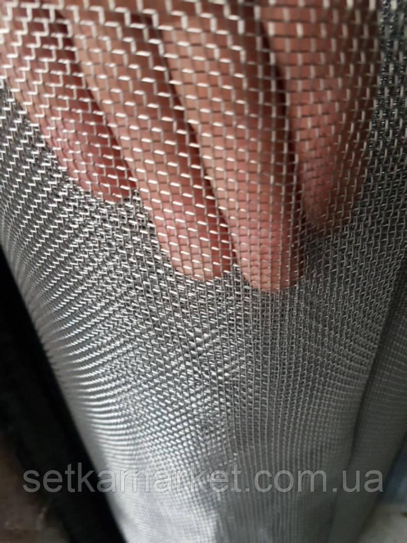 Тканая Нержавеющая, Ячейка 1,6 мм., Проволока 0,4 мм.