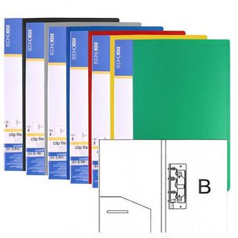 Папка з притиском А4 пластикова Clip В Light, Economix E31208