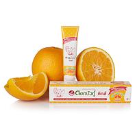 Детская зубная паста Twin Lotus апельсин (для детей от 2 лет)