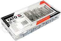 Набор прямых шплинтов для фиксации деталей из 1000 предметов Yato YT-06885, фото 1
