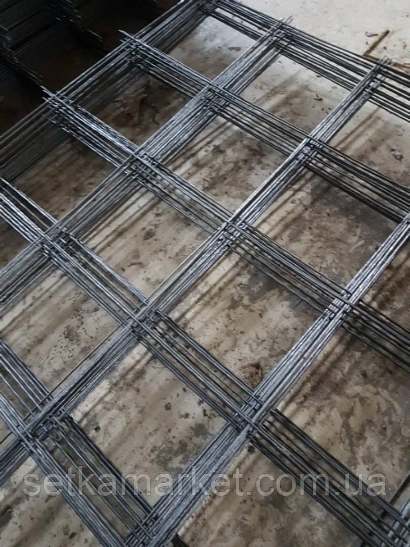Сетка кладочная, яч 150x150 мм, проволока 2,4 мм, лист 2х1 м.