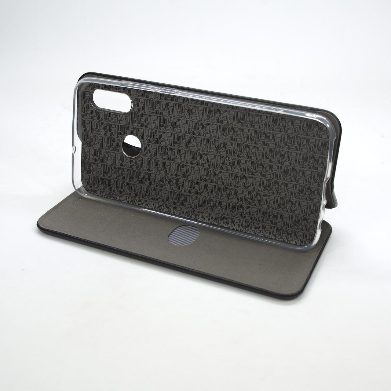Book Cover Leather Huawei P Smart 2019 black Для телефона