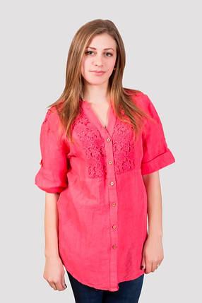 Хлопковая летняя блуза , фото 2