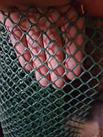 Пластиковая, ячейка 12х12 мм. (ромб), толщина нитки 1.7 мм., фото 1