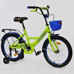 """Велосипед 18"""" дюймов 2-х колёсный G-18180 """"CORSO"""" 75341"""