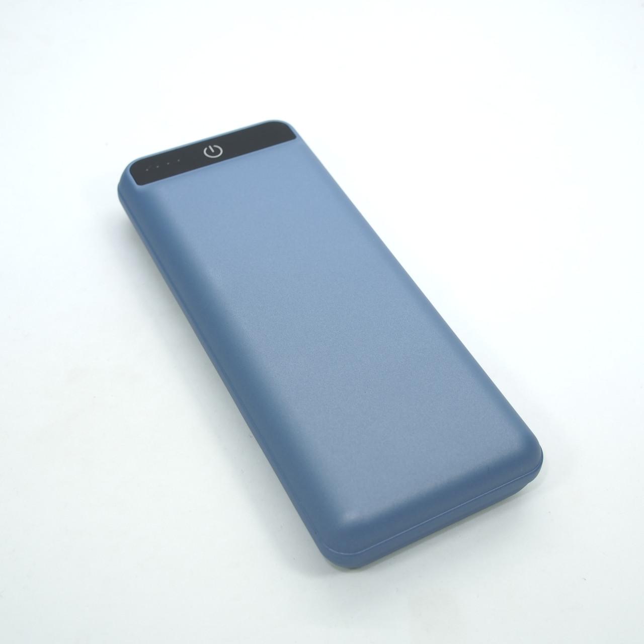 Портативные батареи 2E 20000 blue USB кабель