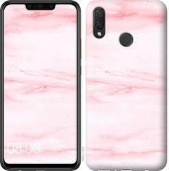 """Чехол на Huawei Nova 3i розовый мрамор """"3860c-1541-328"""""""