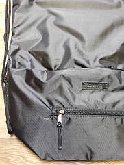 Рюкзак мешок спортивный для сменной обуви, одежды Чёрный