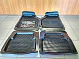 Килимки салону ВАЗ 2101 - 2107, Daewoo Lanos, Sens (комплект), фото 2
