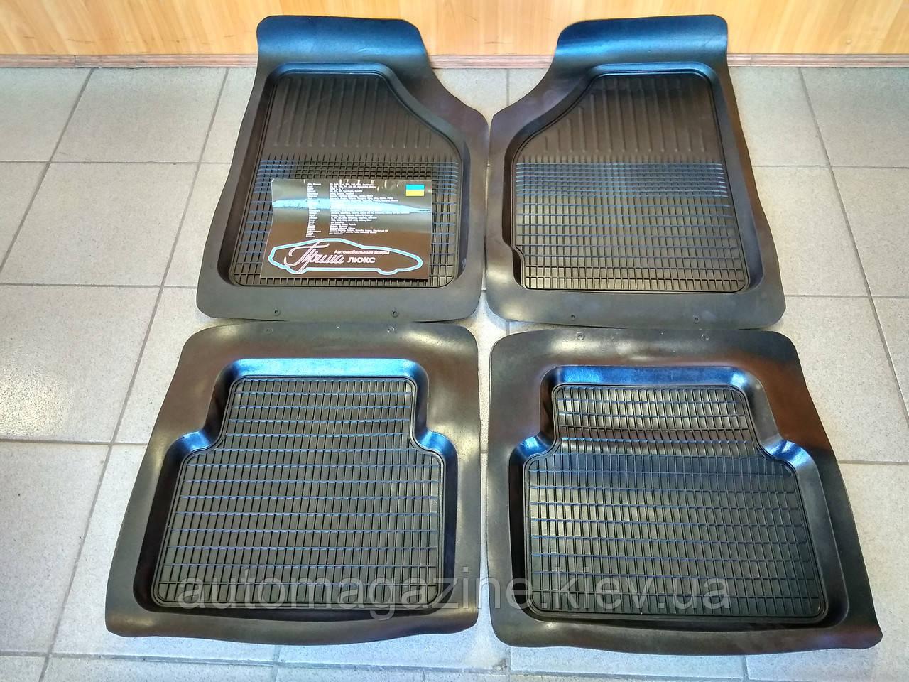 Килимки салону ВАЗ 2101 - 2107, Daewoo Lanos, Sens (комплект)