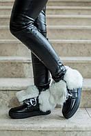 Donna-M Зимние ботиночки с отворотом из меха кролика Артикул 070, фото 1