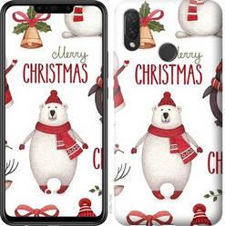 "Чехол на Huawei P Smart Plus Merry Christmas ""4106c-1555-328"""