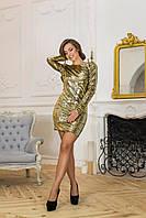 Donna-M Роскошное облегающее платье с пайетками Р 1536, фото 1