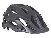 Шлем велосипедный матовый черный BHE-67 Varallo , фото 1