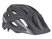 Шлем велосипедный матовый черный BHE-67 Varallo