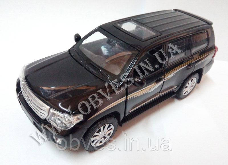 Модель Toyota Land Cruiser 200 (черный)