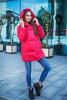 Donna-M Зимняя курточка Зефирка красная Р 1444, фото 1