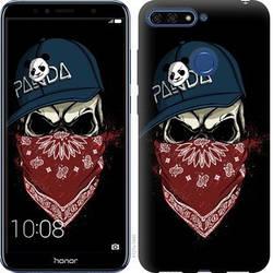 """Чехол на Huawei Honor 7A Pro Череп в кепке """"4127c-1440-328"""""""