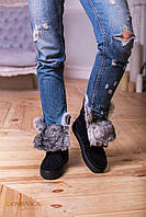 Donna-M Зимние ботиночки с отворотом из кролика Артикул 070, фото 1