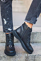 Donna-M Стильные ботиночки из натуральной лицевой кожи Артикул 064, фото 1