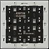 Кнопочный модуль 2-х проводная шина