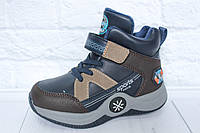 Демисезонные ботинки на мальчика Ytop, р. 30, фото 1