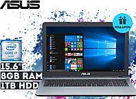 """Ноутбук Asus K541UA-GQ612T 15.6"""" HD LED (Core i7-7500U, 8GB RAM, 1TB HDD, Windows 10) - Суперцена!"""