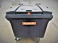Мусорный контейнер с ЗАМКОМ 1100л SULO (Германия)