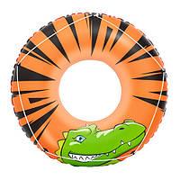 Надувной круг Аллигатор Bestway 36108, 119см