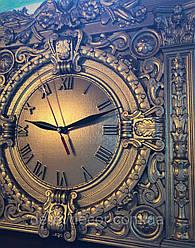 Качественные резные часы из дерева
