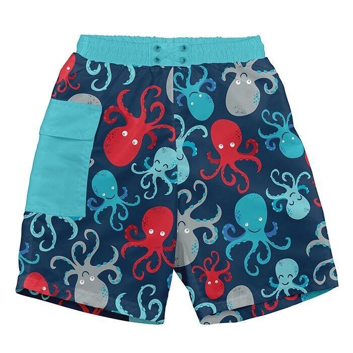 Шорты для плавания I Play Navy Octopus (BB)