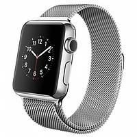 Умные часы Apple Watch на сетчатом венецианском  браслете 38 мм